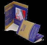 Конверт из картона с кармашком